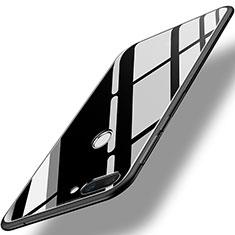 Carcasa Bumper Funda Silicona Espejo para Huawei Honor 9i Negro