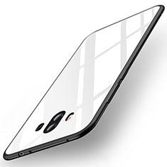 Carcasa Bumper Funda Silicona Espejo para Huawei Mate 10 Blanco