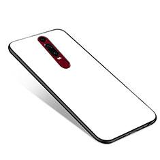 Carcasa Bumper Funda Silicona Espejo para Huawei Mate RS Blanco