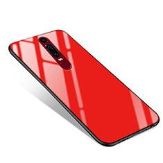 Carcasa Bumper Funda Silicona Espejo para Huawei Mate RS Rojo