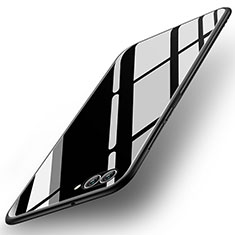 Carcasa Bumper Funda Silicona Espejo para Huawei Nova 2S Negro