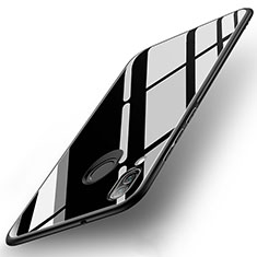 Carcasa Bumper Funda Silicona Espejo para Huawei Nova 3e Negro