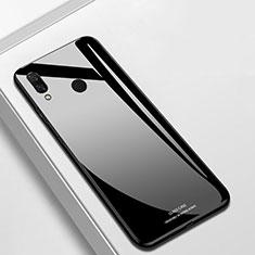 Carcasa Bumper Funda Silicona Espejo para Huawei P Smart+ Plus Negro
