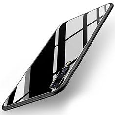 Carcasa Bumper Funda Silicona Espejo para Huawei P20 Pro Negro