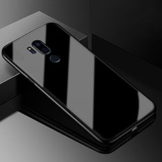 Carcasa Bumper Funda Silicona Espejo para LG G7 Negro