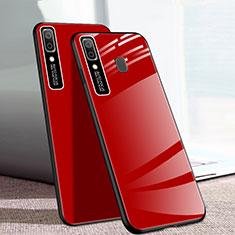 Carcasa Bumper Funda Silicona Espejo para Samsung Galaxy A20e Rojo