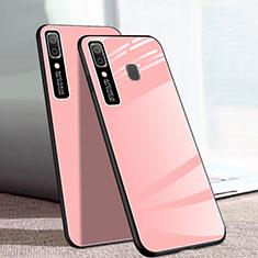 Carcasa Bumper Funda Silicona Espejo para Samsung Galaxy A20e Rosa