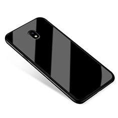 Carcasa Bumper Funda Silicona Espejo para Samsung Galaxy J5 (2017) Duos J530F Negro