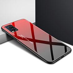 Carcasa Bumper Funda Silicona Espejo para Xiaomi Mi 10 Lite Rojo