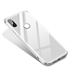 Carcasa Bumper Funda Silicona Espejo para Xiaomi Mi 8 SE Blanco
