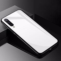 Carcasa Bumper Funda Silicona Espejo para Xiaomi Mi 9 Pro 5G Blanco