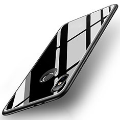 Carcasa Bumper Funda Silicona Espejo para Xiaomi Mi A2 Negro
