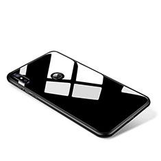 Carcasa Bumper Funda Silicona Espejo para Xiaomi Mi Mix 2S Negro