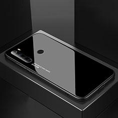 Carcasa Bumper Funda Silicona Espejo para Xiaomi Redmi Note 8T Negro