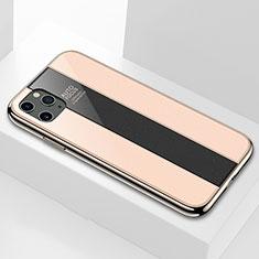 Carcasa Bumper Funda Silicona Espejo T01 para Apple iPhone 11 Pro Oro