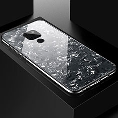 Carcasa Bumper Funda Silicona Espejo T01 para Huawei Mate 20 Negro