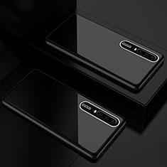 Carcasa Bumper Funda Silicona Espejo T01 para Huawei P30 Negro