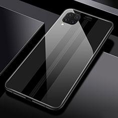 Carcasa Bumper Funda Silicona Espejo T01 para Huawei P40 Lite Negro