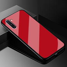 Carcasa Bumper Funda Silicona Espejo T01 para Samsung Galaxy Note 10 5G Rojo