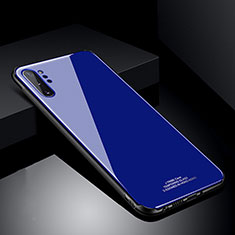 Carcasa Bumper Funda Silicona Espejo T01 para Samsung Galaxy Note 10 Plus 5G Azul