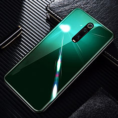 Carcasa Bumper Funda Silicona Espejo T01 para Xiaomi Mi 9T Pro Verde