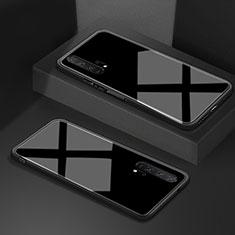Carcasa Bumper Funda Silicona Espejo T02 para Huawei Honor 20 Pro Negro