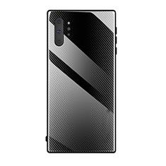 Carcasa Bumper Funda Silicona Espejo T02 para Samsung Galaxy Note 10 Plus 5G Negro