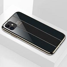 Carcasa Bumper Funda Silicona Espejo T03 para Apple iPhone 11 Negro
