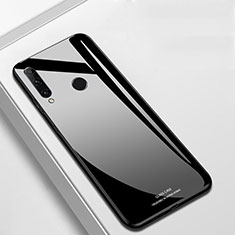Carcasa Bumper Funda Silicona Espejo T03 para Huawei Honor 20 Lite Negro