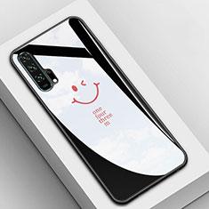 Carcasa Bumper Funda Silicona Espejo T03 para Huawei Honor 20 Pro Negro