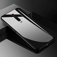 Carcasa Bumper Funda Silicona Espejo T03 para Xiaomi Mi 9T Pro Negro
