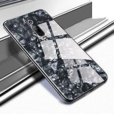 Carcasa Bumper Funda Silicona Espejo T04 para Xiaomi Mi 9T Pro Negro