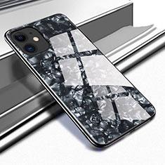 Carcasa Bumper Funda Silicona Espejo T05 para Apple iPhone 11 Negro