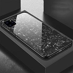 Carcasa Bumper Funda Silicona Espejo T06 para Apple iPhone 11 Pro Max Negro