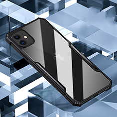 Carcasa Bumper Funda Silicona Transparente Espejo H01 para Apple iPhone 11 Negro