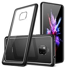 Carcasa Bumper Funda Silicona Transparente Espejo H01 para Huawei Mate 20 Pro Negro