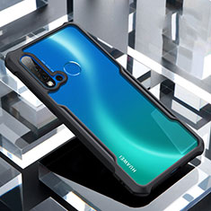 Carcasa Bumper Funda Silicona Transparente Espejo H01 para Huawei Nova 5i Negro
