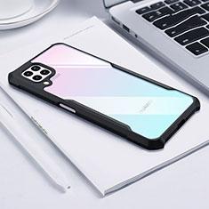 Carcasa Bumper Funda Silicona Transparente Espejo H01 para Huawei P40 Lite Negro