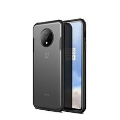 Carcasa Bumper Funda Silicona Transparente Espejo H01 para OnePlus 7T Negro