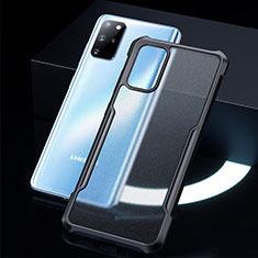Carcasa Bumper Funda Silicona Transparente Espejo H01 para Samsung Galaxy S20 Plus 5G Negro