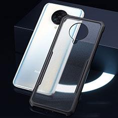 Carcasa Bumper Funda Silicona Transparente Espejo H01 para Xiaomi Redmi K30 Pro Zoom Negro