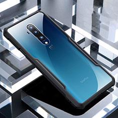 Carcasa Bumper Funda Silicona Transparente Espejo H02 para OnePlus 7T Pro Negro