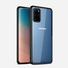 Carcasa Bumper Funda Silicona Transparente Espejo H02 para Samsung Galaxy S20 Plus Negro