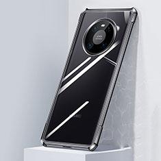 Carcasa Bumper Funda Silicona Transparente Espejo M01 para Huawei Mate 40 Pro Negro