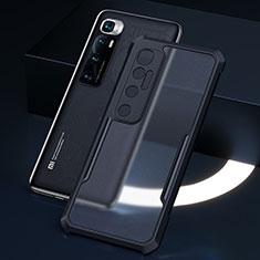 Carcasa Bumper Funda Silicona Transparente Espejo M01 para Xiaomi Mi 10 Ultra Negro