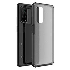 Carcasa Bumper Funda Silicona Transparente Espejo M01 para Xiaomi Mi 10T 5G Negro