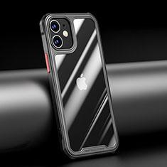Carcasa Bumper Funda Silicona Transparente Espejo M04 para Apple iPhone 12 Mini Negro