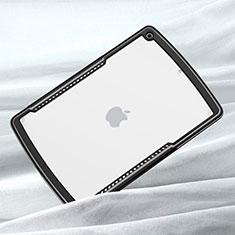 Carcasa Bumper Funda Silicona Transparente Espejo para Apple iPad 10.2 (2020) Negro