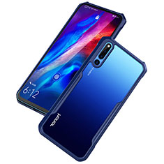 Carcasa Bumper Funda Silicona Transparente Espejo para Huawei Honor Magic 2 Azul