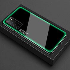 Carcasa Bumper Funda Silicona Transparente Espejo para Huawei Honor Play4 5G Verde